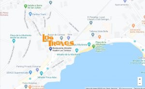 Restaurantes de carne en Alicante | Restaurantes para celiacos en Alicante - Mapa Los Troncos