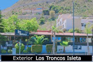 Exterior Los Troncos Isleta