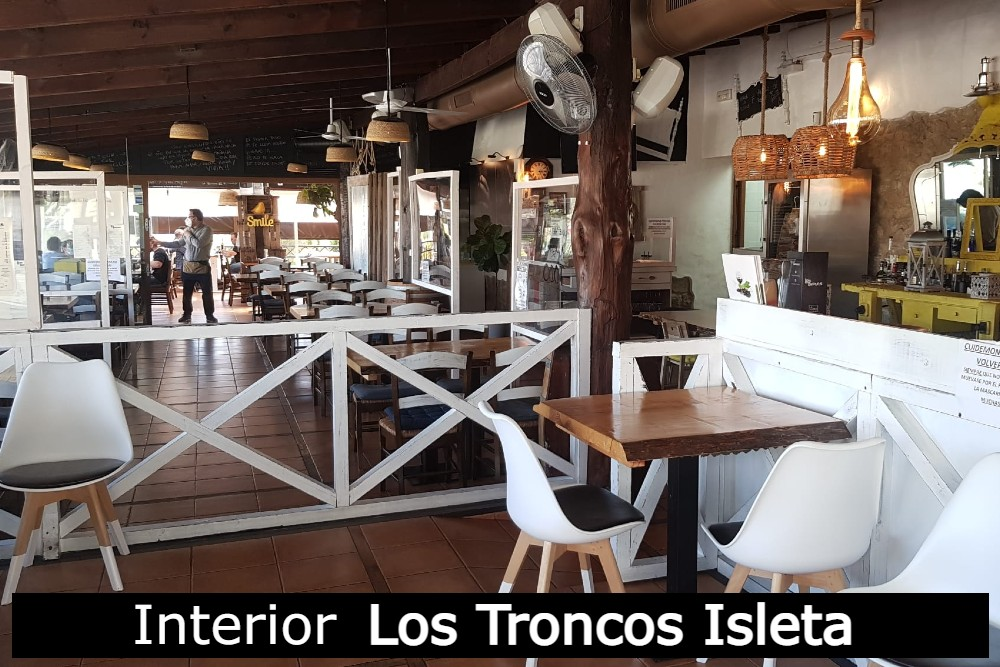 Interior Los Troncos Isleta